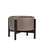 case study desk top planter with metal stand  - modernica