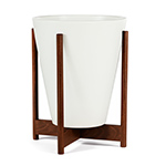 case study funnel with wood stand  - modernica