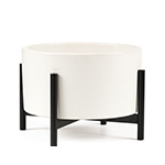 case study table top planter with metal stand  - modernica