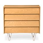 case study v-leg 4 drawer dresser  - modernica