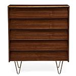 case study v-leg 5 drawer dresser  - modernica