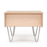 case study v-leg bedside table  - modernica
