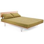 case study v-leg bed  - modernica