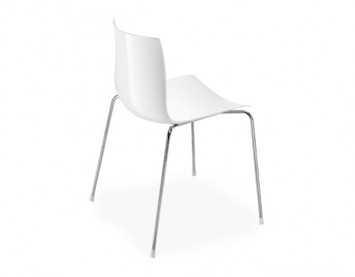 catifa 46 four leg polypropylene side chair