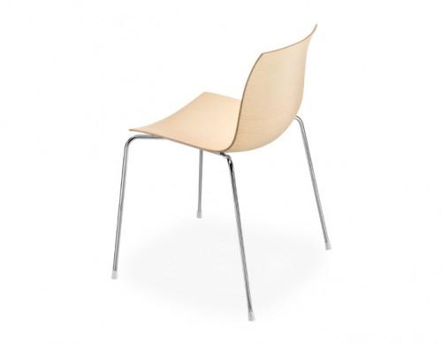 catifa 46 four leg wood side chair