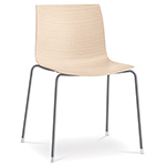 catifa 46 four leg wood side chair - Altherr & Molina Lievore - arper