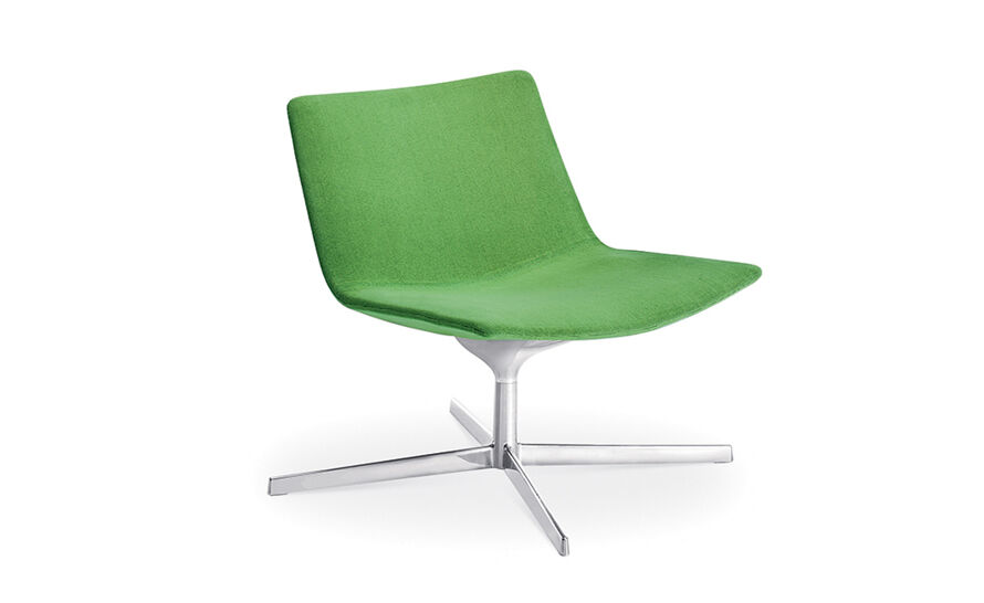 catifa 60 lounge chair with pedestal base