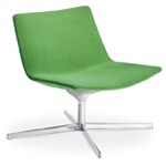 catifa 60 lounge chair with pedestal base - Altherr & Molina Lievore - arper