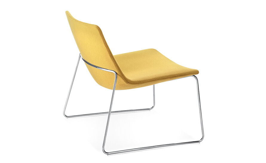 catifa 60 lounge chair with sled base