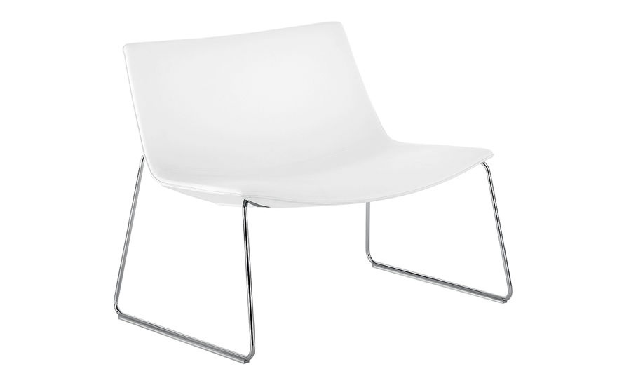catifa 80 lounge chair with sled base