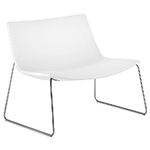catifa 80 lounge chair with sled base  -