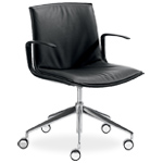 catifa up soft chair with five star base - Altherr & Molina Lievore - arper