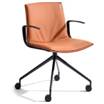 catifa up soft chair with trestle base - Altherr & Molina Lievore - arper