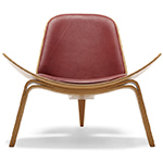 ch07 lounge chair - Hans Wegner - Carl Hansen & Son