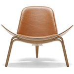 ch07 lounge chair quick ship - Hans Wegner - Carl Hansen & Son