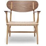 ch22 lounge chair - Hans Wegner - Carl Hansen & Son
