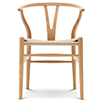ch24 wishbone chair quick ship - Hans Wegner - Carl Hansen & Son
