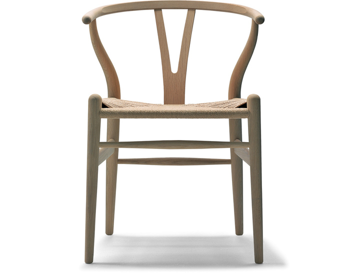 Ch24 Wishbone Chair Wood Hivemodern Com