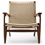 ch25 lounge chair - Hans Wegner - Carl Hansen & Son