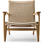 ch25 lounge chair quick ship  -