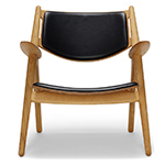 ch28 upholstered lounge chair - Hans Wegner - Carl Hansen & Son