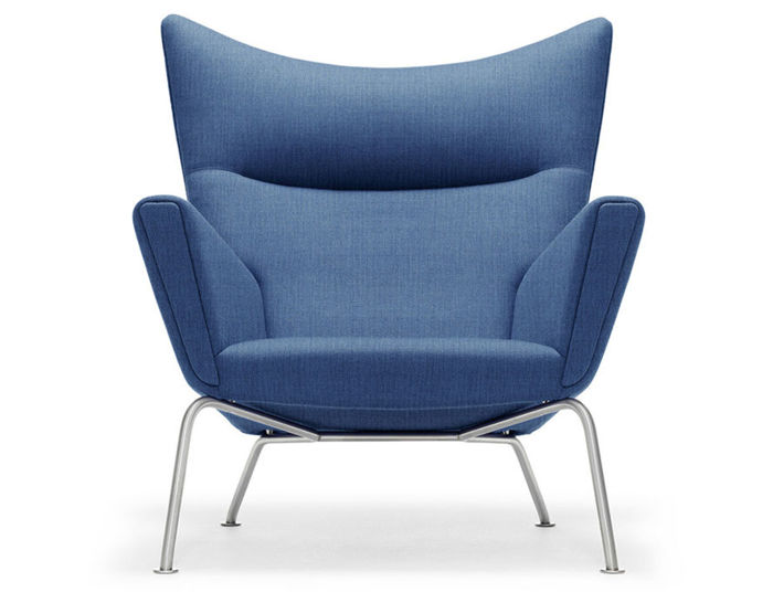 Ch445 Wing Lounge Chair hivemodern