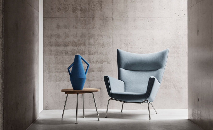 Ch445 Wing Lounge Chair Hivemodern Com