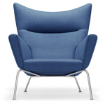 ch445 wing lounge chair  -