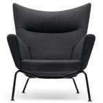 ch445 wing lounge chair quick ship - Hans Wegner - Carl Hansen & Son