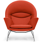 ch468 oculus lounge chair - Hans Wegner - Carl Hansen & Son