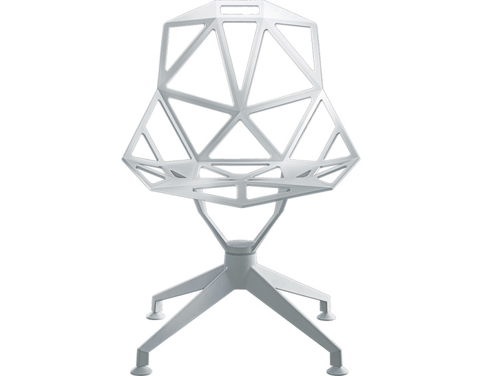 magis chair one with 4 star base