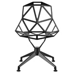 magis chair one with 4 star base - Konstantin Grcic - magis