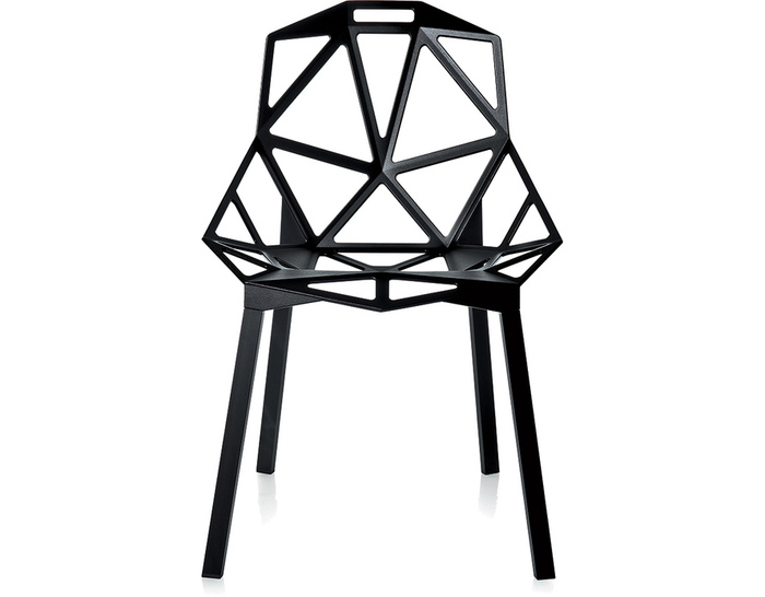 magis chair one with stacking base two pack hivemodern com