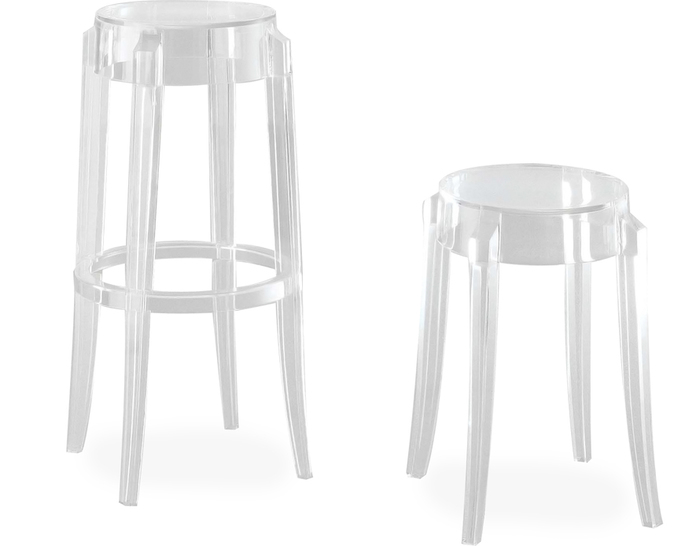 charles ghost stool 2 pack