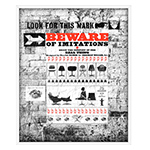 herman miller beware of imitations poster  -