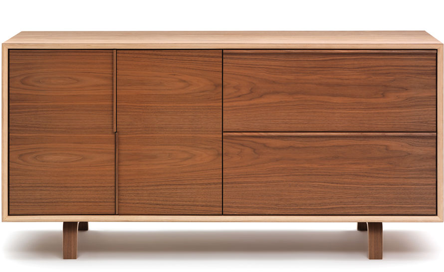 Cherner 2 Door2 Drawer File Cabinet Hivemodern