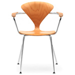 cherner metal leg arm chair cherner side chair csc05