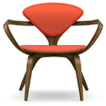 cherner lounge arm chair  -