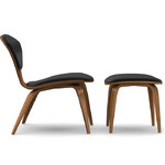 cherner lounge side chair & ottoman  -