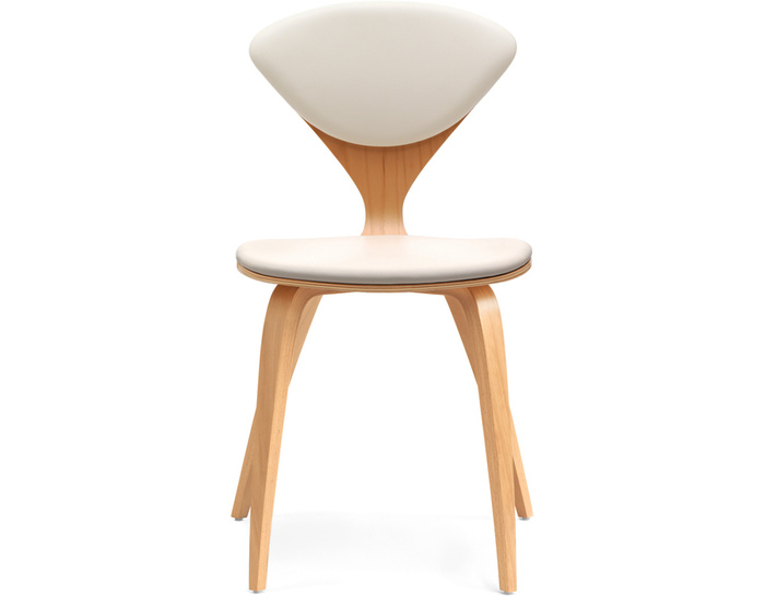 Elegant Cherner Side Chair With Upholstered Seat U0026 Back