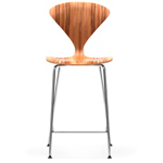 cherner metal leg stool