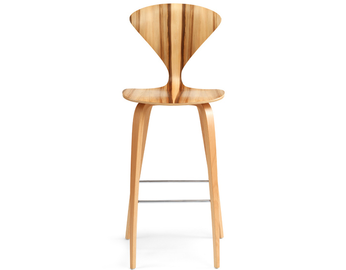 Wonderful Cherner Wood Leg Stool Home Design Ideas