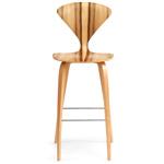 cherner wood leg stool  -