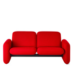 ray wilkes two seat chiclet sofa  - Herman Miller