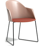 cila polypropylene armchair with sled base - Altherr & Molina Lievore - arper