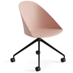 cila polypropylene chair with trestle base - Altherr & Molina Lievore - arper