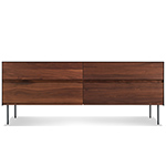 clad 4 drawer dresser  - blu dot