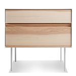 clad nightstand  - blu dot