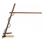 clamp led table lamp  - pablo