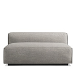cleon armless sofa  - blu dot
